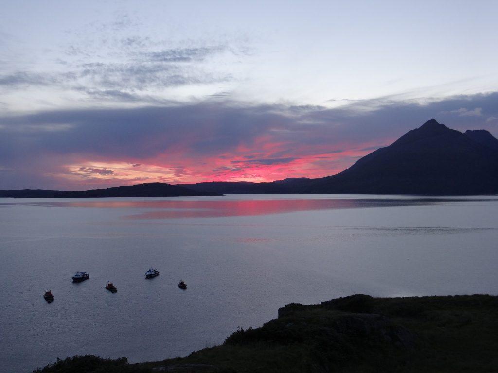 redsky sunset