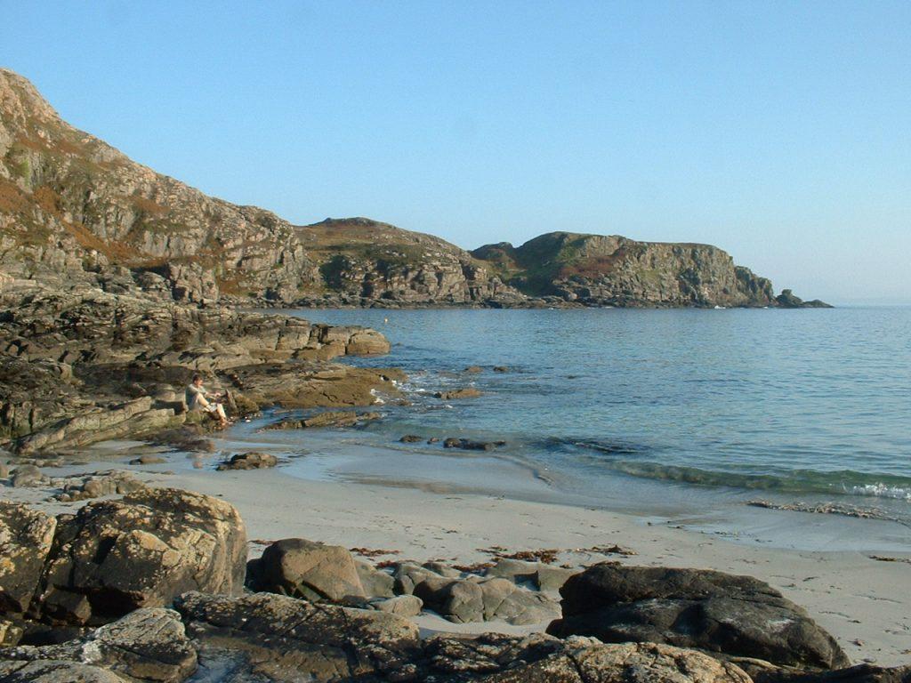 Sandy Bay near Sleat Point